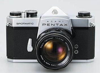 cámara-marca-pentax-spotmatic-sistema-ttl