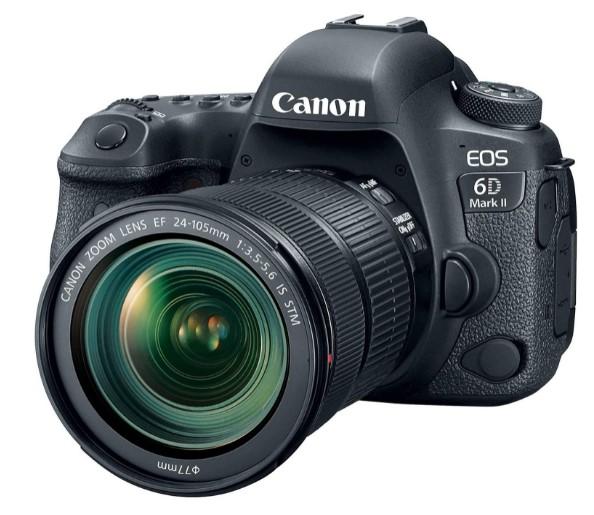 Canon EOS 6D MK II - Cámara-digital-réflex-pantalla táctil