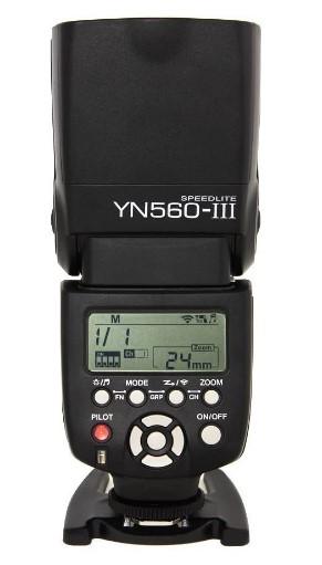 Yongnuo YN560 III - Flash-zapata-fotografía