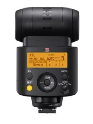 Sony HVLF45RM -profesional-Flash-Externo-Alta-Potencia-Control-inalámbrico-Radio-luz LED-vídeos-Fotos