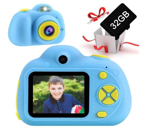 Cámara--Tarjeta-TF 32GB-OFUN-Recargable-cámara-Digital-Selfie