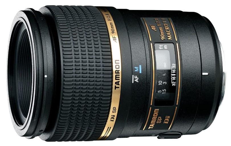Tamron SP AF 90 mm F/2.8-Di-MACRO-1:1- Objetivo-Canon-distancia focal fija-90mm-apertura-f/2.8-macro-diámetro-55mm)