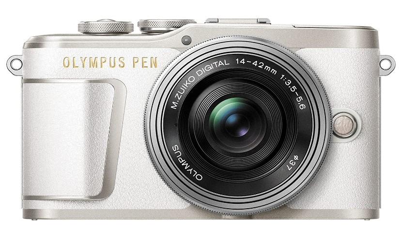 Olympus PEN E-PL9-Cámara-Sistema-Micro Cuatro Tercios-16,4 MP-Estabilizador de Imagen de 5 Ejes-Visor Electrónico-4K Vídeo-Objetivo M.Zuiko 14-42mm