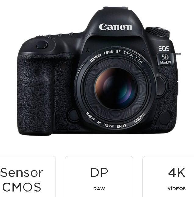cámara-réflex-canon-eos-5d-marca-fotografica-profesional