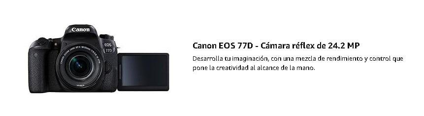 cámara-réflex-canon-eos-77d-marca-semiprofesional-fotografica