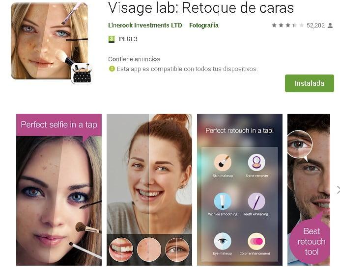 visage-retoque-caras-aplicación-app-móvil-gratis-edición-fotos